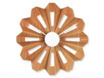 Zegar ścienny Lotus Flower wood