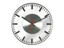 Zegar ścienny Glass printed station