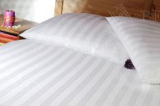 Pościel hotelowa w grube pasy 100% bawełna