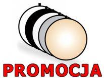 Okrągła BLENDA FOTOGRAFICZNA 60cm, 5w1 + pokrowiec