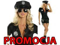 Strój POLICJANTKA policja +kajdanki
