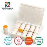 Świece dymne kolorowe Bjornax Colour Smoke AX-9 (9g/8,5 m3/65 sek), pomarańczowe