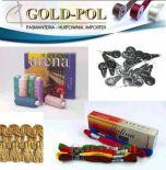 Dodatki krawieckie, dekoracyjne frędzle, chwosty goldpol.eu